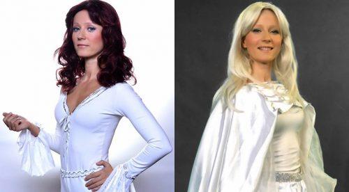 Деси Добрева като двете певици от ABBA