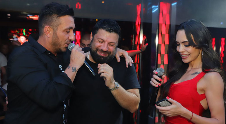 Константин, Тони Стораро и Лияна