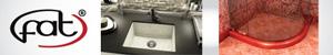 Композитни кухненски мивки, прагове за баня