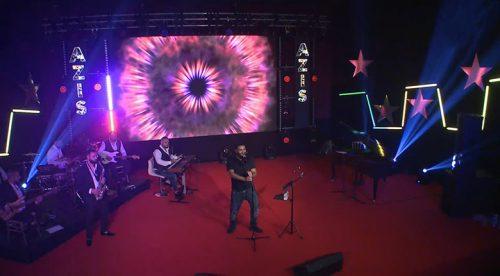 новогодишното шоу на Азис и Азис груп с Глория, Деси Слава и Меди